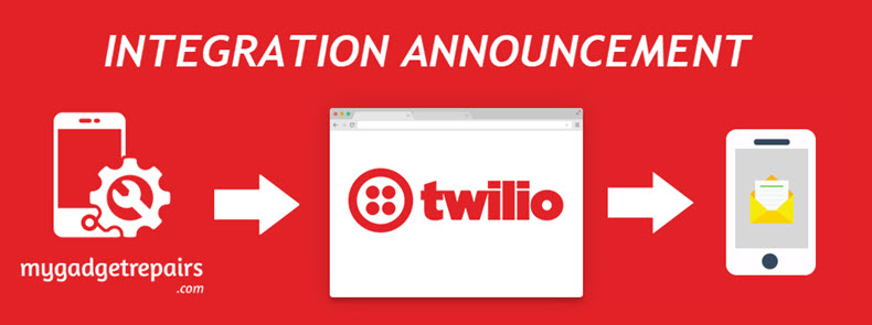 My Gadget Repairs and Twilio Integration