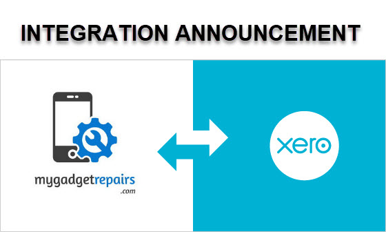 My Gadget Repairs and Xero Integration - BETA