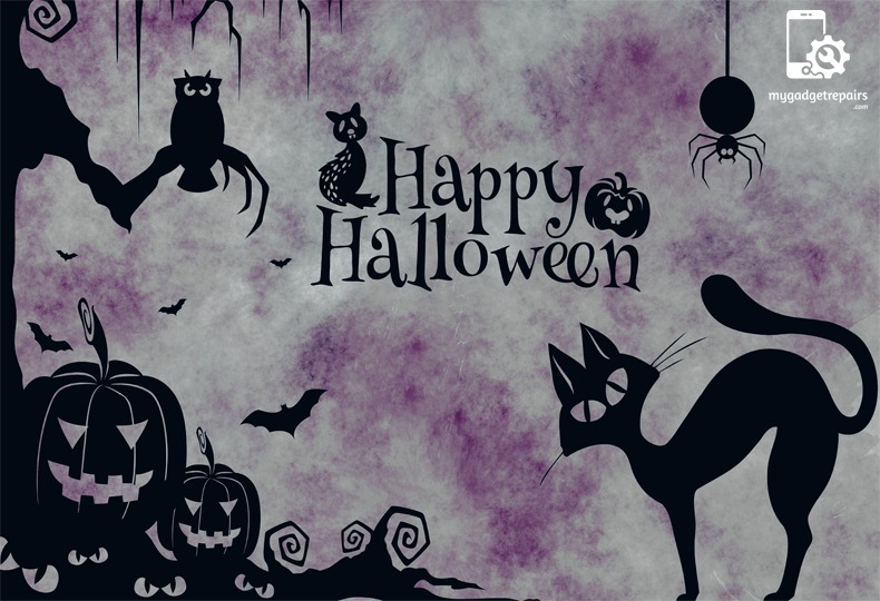 "Happy Halloween to you…Hope it is a ""spook""tacular one! Enjoy the yummy treats!"