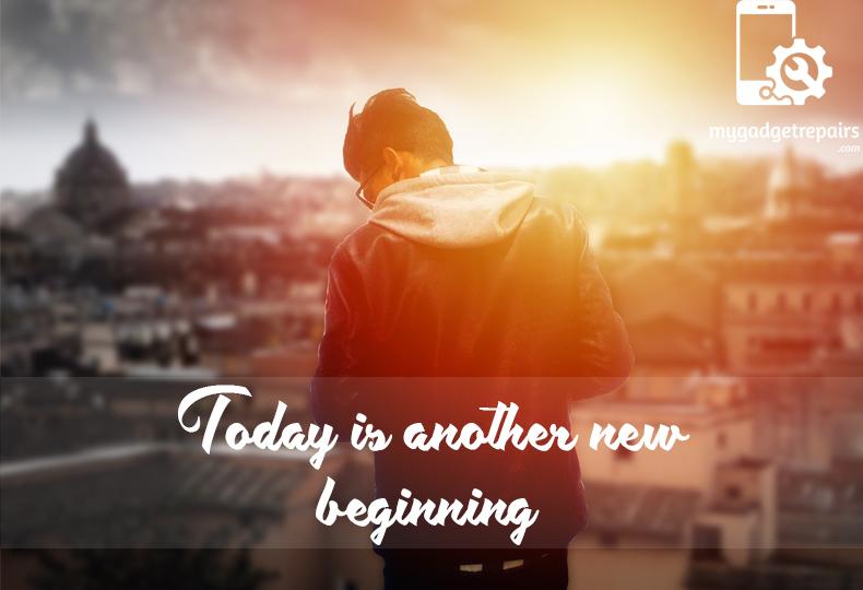 Week 15 - Begin the week on a positive note! #mygadgetrepairs #mondaymotivation
