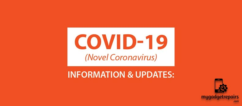 COVID-19 Update: 20 March, 2020 - MGR