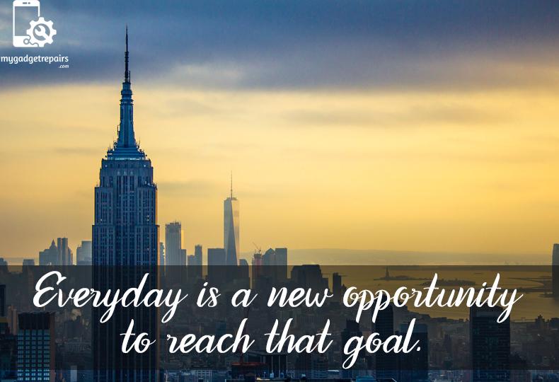 Week 48 - Begin the week on a positive note! #mygadgetrepairs #mondaymotivation