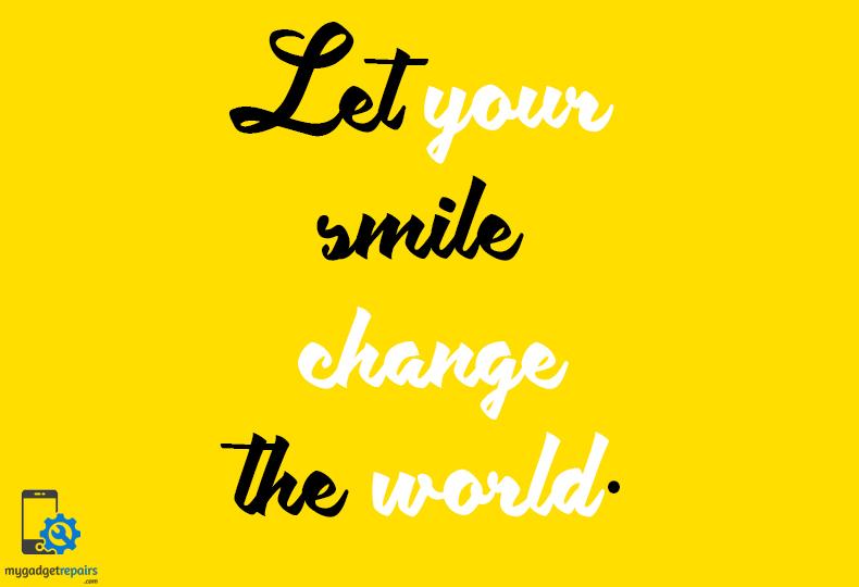 Week 25 - Begin the week on a positive note! #mygadgetrepairs #mondaymotivation